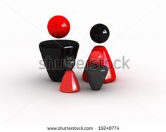 Happy Family (Image Can Be Used For Printing Or Web) Stock Photo 19240774 : Shutterstock
