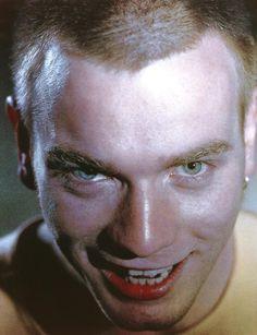 TRAINSPOTTING, Ewan McGregor, 1996 | Essential Film Stars, Ewan McGregor http://gay-themed-films.com/film-stars-ewan-mcgregor/