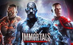 WWE Immortals [Hile] v1.9.0 (MOD APK) - WWE güreşçileri süper güçlere sahip olsaydı?  ArcadeVeAksiyon Hile Oyunlar