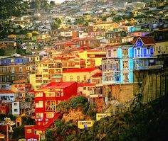 Valparaiso, Chili. My first time seeing the Pacific. It was sooo, amazing.