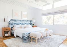 How To Choose Your Perfect Color Palette - Emily Henderson #interiordesign #colorpalette #homedecor Home Bedroom, Master Bedroom, Bedroom Decor, Bedroom Ideas, Summer Bedroom, Design Bedroom, Master Suite, Make Your Bed, How To Make Bed