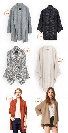 Comfy-cardigans. I only have two! What's a girl to do?
