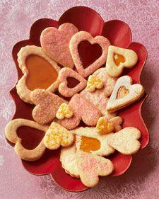 Valentine Cookies - Martha Stewart