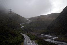 Rainy day in South Island, New Zealand