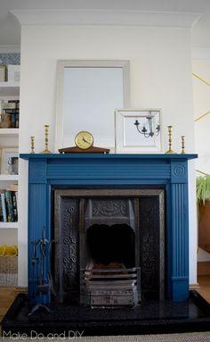 a fireplace refresh