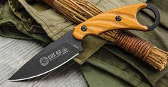 The C.U.T. 4.0 by Tops was designed by Joshua Swanagon, who is a real big fan of ring knives and their ability in combative situations. Combining his martial arts background with his love of utility blades led to this great Combat Utility Tool. This knife just feels like an extension of your...