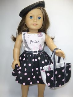 American Girl Doll Paris Inspiration Outfit by CindyrellasCloset