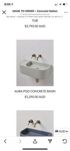 Concrete Basin, Reno Ideas, Tub, Bath Tub, Concrete Pool, Soaking Tubs, Tupperware, Bathtub, Bathtubs