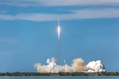 SpaceX Falcon 9 Launch by Sky Noir Pinned by Tyler Hochstetler