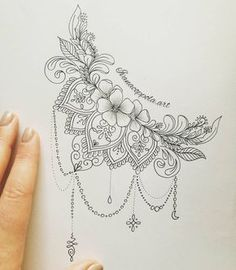 Vector indian traditional pattern of black and white flower mandala ide boob tattoo design ivanacoppola crescent flowers mandala mandalatattoo art tattooidea artist artistic feature j creating tattoo idea skull flowers mandala insta amylquise_drawings Hamsa Tattoo, Diy Tattoo, Dotwork Tattoo Mandala, Mandala Tattoo Design, Mandala Art, Mandala Tattoo Shoulder, Mandala Thigh Tattoo, Mandala Sketch, Lace Tattoo Design