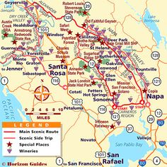 Heres Your Napa Valley Winery Map With AVAs And Official Visitors - Map of napa hotels