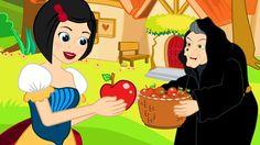 Biancaneve e i sette nani cartoni animati italiano - favole per bambini ...