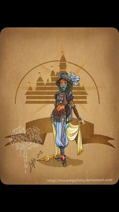 Steampunk Jasmine