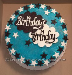 Coolest Fault in Our Stars Cake... Homemade Birthday Cake Ideas