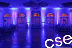 CITY SOUNDS ENTERTAINMENT | CSE's Wireless LED Up-Lighting