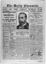 Armistice 1918, Daily Chronicle, Nov. 12, 1918
