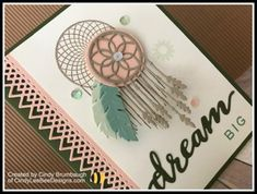 Stampin' Up Follow Your Dreams with Delicate Lace Edgelits | Cindy Lee Bee Designs