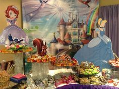 Candy bar. Sofia the first. Princesita Sofía