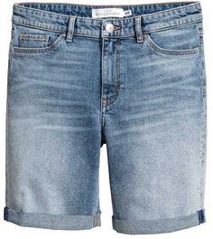 H&M Long Denim Shorts