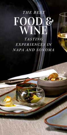 If there's any possibility a day spent wine tasting in Napa or Sonoma could get better, it would be with an artfully prepared food and wine tasting experience. For those of you looking to add an element of luxury and fine dining to your wine tasting itinerary, these wineries are for you. Best Wineries In Napa, Sonoma Wineries, Napa Sonoma, Sonoma County, Sonoma California, California Wine, California Travel, West Coast Foods, Healdsburg Wineries