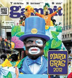 Happy Mardi Gras, Feb. 21, 2012