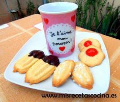 Pastas de Te o pastas de manga hechas con la thermomix Cookie Time, Sweets Recipes, Cakes And More, Coffee Break, Biscuits, Bakery, Sweet Treats, Good Food, Cookies