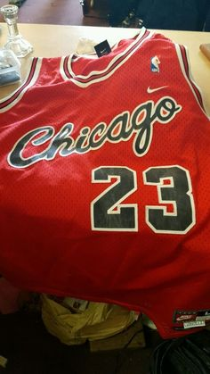 ae852f479  Chicago Bulls Michael Jordan Nike Jersey 1984 from  43.0