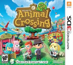 Great game for kids to create their own happy place - As the mayor, they get to make the big decisions that shape their town. Add new features, decide which facilities get built, change shop hours and more. Animal Crossing 3ds, Nintendo 3ds Games, Nintendo 2ds, Nintendo Switch, Wii Games, Games Box, Card Games, Leaf Animals, Shopping