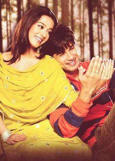 Shahid Kapoor with Amrita Rao
