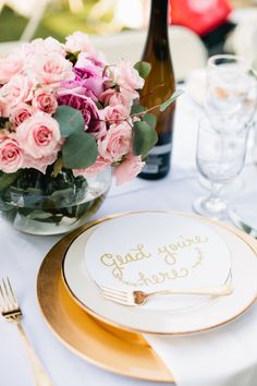 From personalised notes at their place cards to sweet thank you signs, say thank you to your wedding guests with one of these 16 gorgeous ideas...