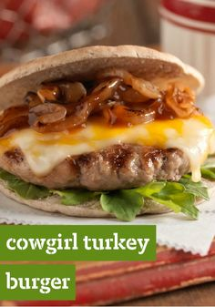 Cowgirl Turkey Burgers- (Liked 1/27/15)