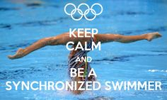 Image discovered by Find images and videos about beautiful, pool and keep calm on We Heart It - the app to get lost in what you love. Synchronized Swimming, Olympic Badminton, Olympic Games Sports, Sport Gymnastics, Olympic Gymnastics, Keep Calm, Swimmer Quotes, Swimmer Girl Problems, Frases