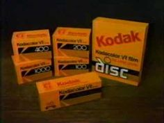 Do you remember when people used to use film in a camera?    80s Kodak Kodacolor VR Film Commercial