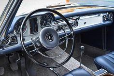 Mercedes-Benz Innenraum W113 Pagode | Nostalgic Oldtimerreisen