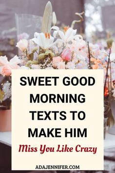 Sweet Message For Husband, Morning Message For Him, Morning Texts For Him, Cute Good Morning Texts, Love Message For Him, Good Morning Quotes For Him, Good Morning Romantic, Romantic Good Morning Messages, Good Night Messages