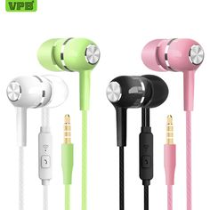 78eb41ced2c US $0.62 10% OFF|VPB S12 Sport Earphone wholesale Wired Super Bass 3.5mm  Crack Colorful Headset Earbud with Microphone Hands Free for Samsung-in  Phone ...