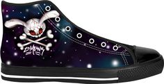 Just added my new Zombie Bunny high tops design to my store https://www.rageon.com/products/zombunny-creepy-zombie-bunny on RageOn! © Sarah M Wall 2017.  If you like creepy horror and zombie apocalypse type stuff, you might just like these ;-)
