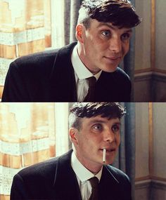 One of the rare times he smiles in Peaky Blinders ❤️️❤️️ - Peaky Blinders Tommy Shelby, Peaky Blinders Thomas, Cillian Murphy Peaky Blinders, Peaky Blinders Series, Peaky Blinders Quotes, Boardwalk Empire, Cillian Murphy Tommy Shelby, Peaky Blinders Wallpaper, Red Right Hand