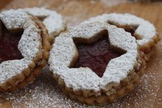 Vegan Linzer Cookies Traditional Vegan Christmas Cookies