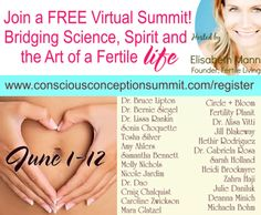 Trying to conceive? Learn the power of mind-body connection at this FREE #fertility summit June 1-12! http://www.consciousconceptionsummit.com/karinthayer