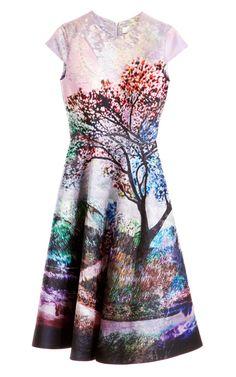 Babelona Silk Dress by Mary Katrantzou Now Available on Moda Operandi