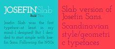 Josefin Slab
