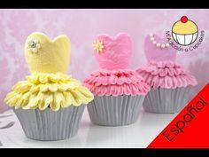 Cupcakes de Bailarinas - ¡Haz Cupcakes de Ballet Tutu con Mi Adicción a Cupcakes! - YouTube