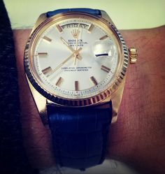 Vintage Rolex Day Date, A Man's Watch.