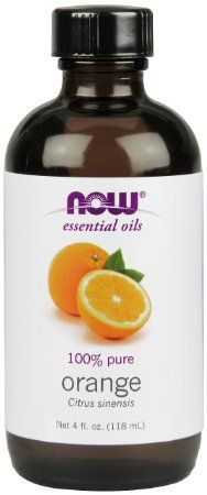 NOW Foods Orange Oil  Sweet, 4 ounce - $5.18 + $4.30 shipping