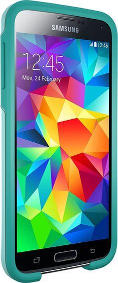 Otterbox SYMMETRY SERIES for Samsung Galaxy S5 - Retail Packaging - AQUA SKY (AQ 660543034490   eBay