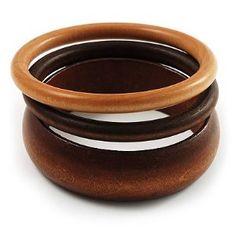 Wooden bangles... a classic