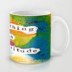 Breathing In Gratitude Coffee Mug by kathleentennant Express Gratitude, Breathe, Coffee Mugs, Tableware, Dinnerware, Coffee Cups, Tablewares, Place Settings, Coffee Cup