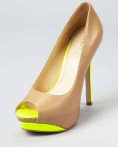 I would love these but with manageable heels.  I quit trying to wear super tall heels.  I can't do it!