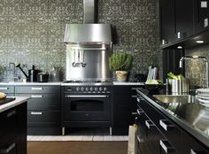 stainless steel countertops - beautiful